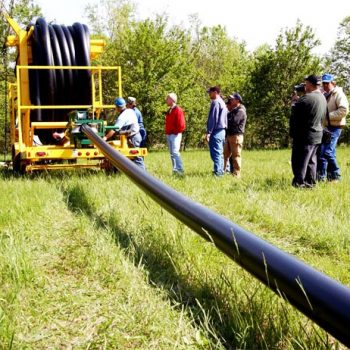 Coiled Pipe Pushing Pipe Installation to New Limits
