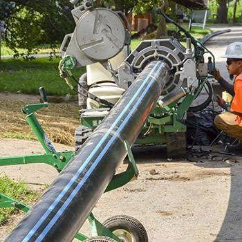Polyethylene Pipe Installation Revitalizes 1800s Neighborhood