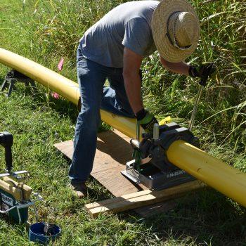 Teel Plastics PA 12 pipe installation in Kentucky is first under PHMSA Mega Rule