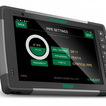 McElroy DataLogger® 7 — A powerful new tablet with 14+ hour battery life