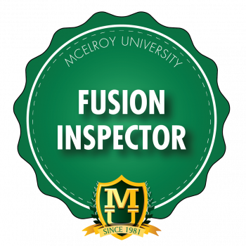McU's Inspector Qualification course now available online, on demand
