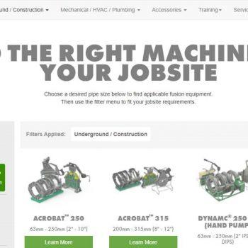 Online Machine Finder Makeover