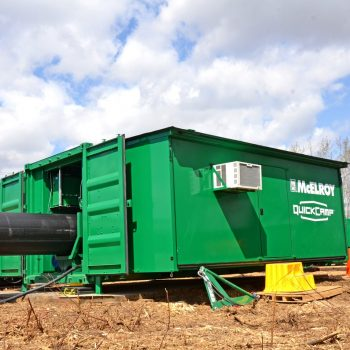 QuickCamp™ Provides Protection from Weather Elements on Job Sites