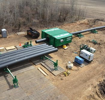 McElroy's new QuickCamp™ delivers at jobsite in Canada