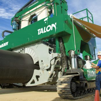 McElroy's giant fusion machine vehicle tackles 2000mm pipe jobs