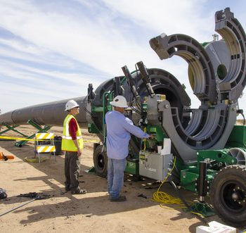 McElroy fusion machine selected for desert water line project
