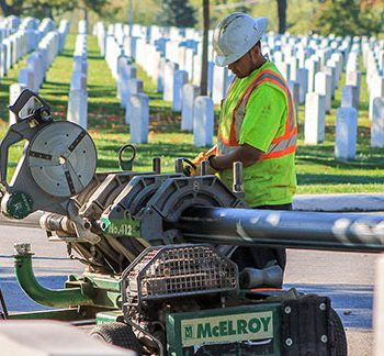 Pre-Chlorinated Pipe Bursting Key to Arlington National Cemetery Water Main Replacement Program