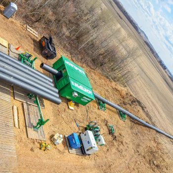 Portable shelter improves pipe-fusing in cold climates