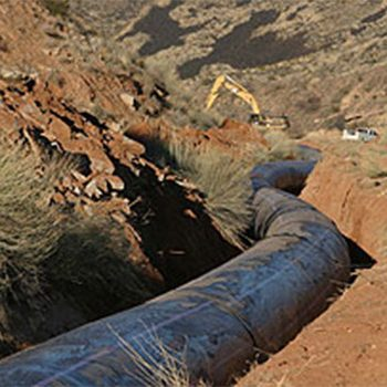 HDPE Projects Help Utah's Dixie Region Stay Leak Free