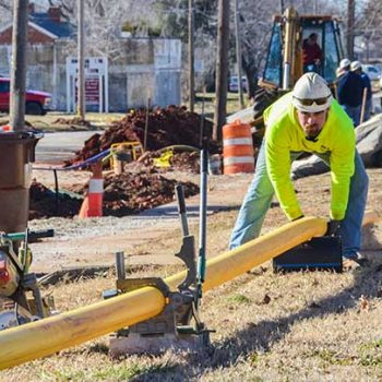 Major renewal project calls for HDPE pipe