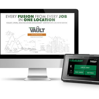 Assure pipeline integrity with the McElroy DataLogger® 6 and Vault™