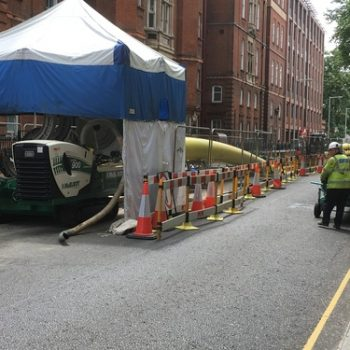London's antiquated gas mains being replaced with modern piping system