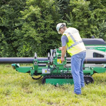 Checking, changing the hydraulic fluid on your medium-diameter TracStars®