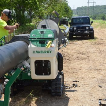 Fuse and bore teams bring relief, solution to flood-ravaged water customers