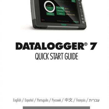 DataLogger® 7 — Quick Start Guide, spec sheet and more